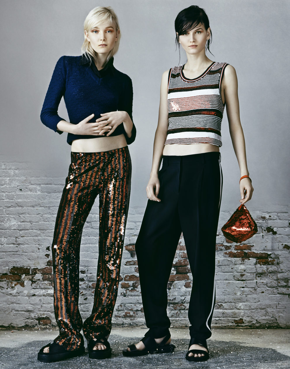 140129 Vogue Sequin Twins Christian Hogstedt 01